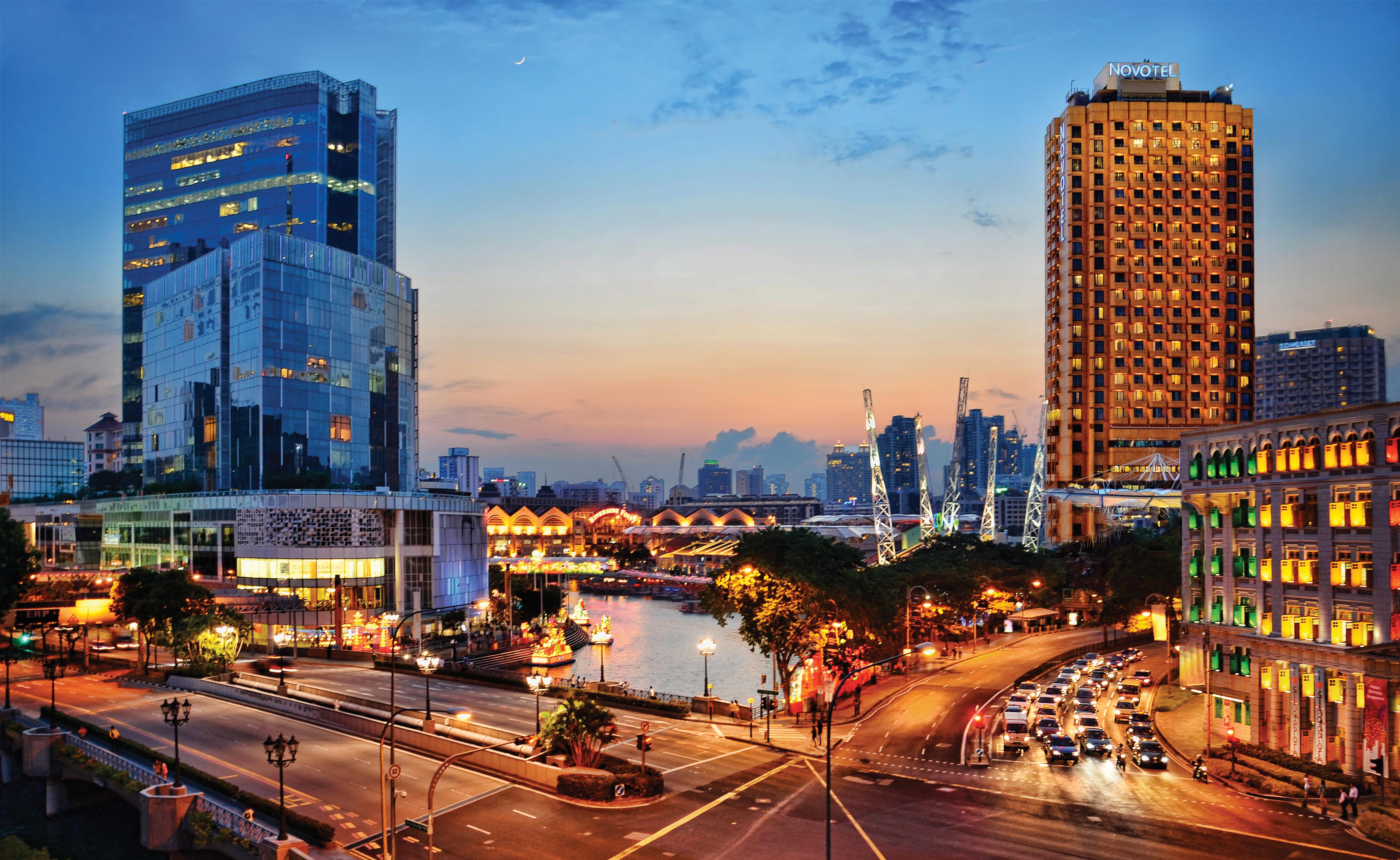 Demenagement international - Singapour