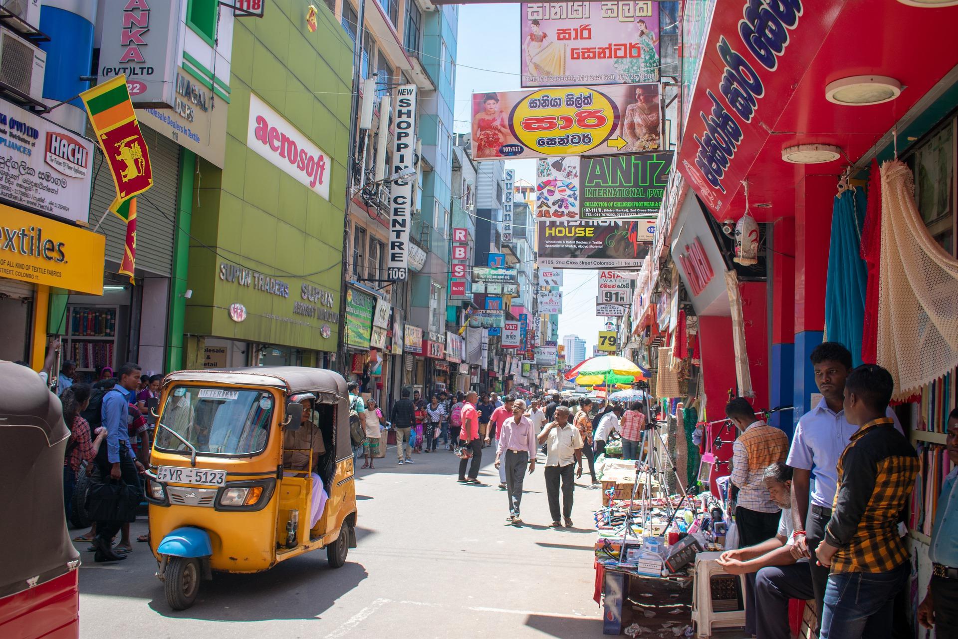 Demenagement conteneur Sri lanka